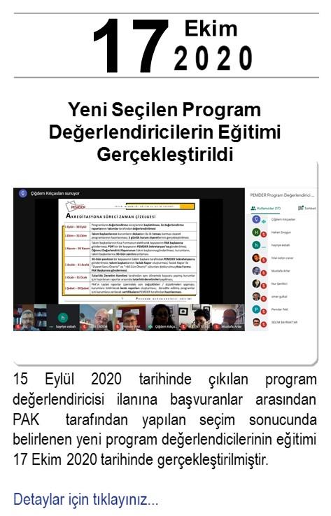 Haber_PD Eğitimi